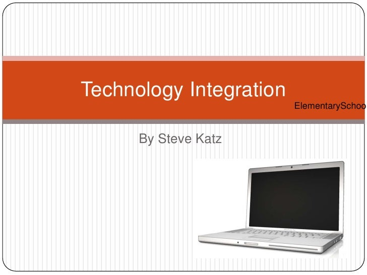 Tech Integration in the Elementary School
