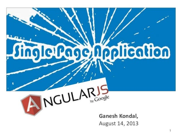 1 Ganesh Kondal, August 14, 2013
