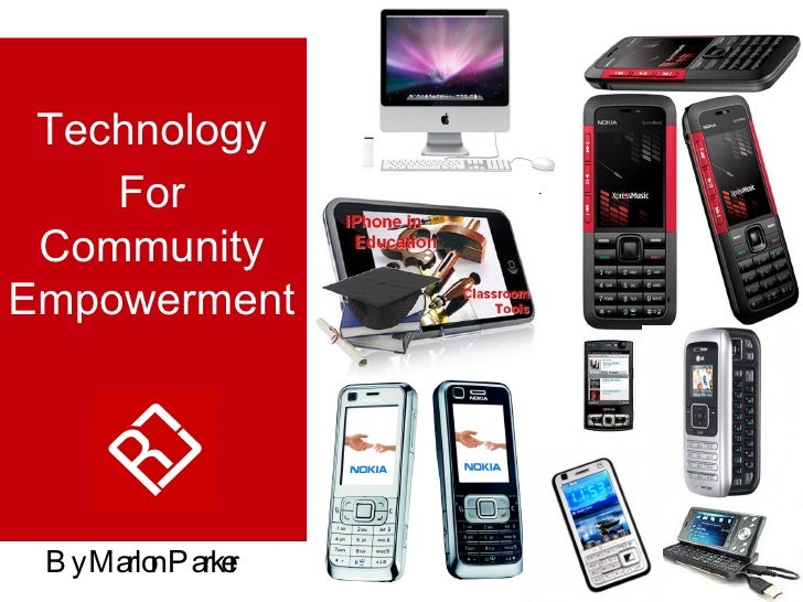 Technology For Community Empowerment   By Marlon Parker