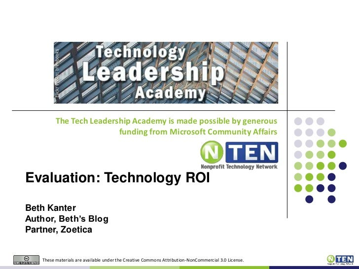 May 11th Slides:  NTEN Leadership