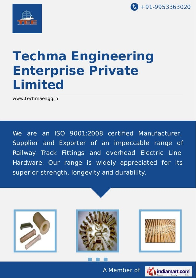 +91-9953363020  Techma Engineering Enterprise Private Limited www.techmaengg.in  We are an ISO 9001:2008 certified Manufact...