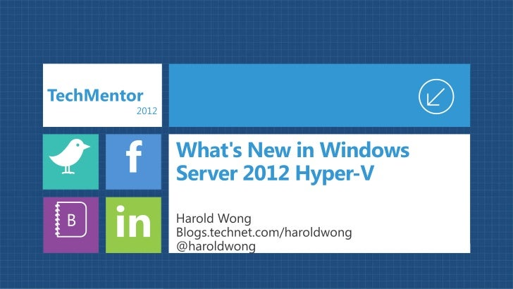Windows Server 2008      Windows Server 2008 R2      Windows Server 2012HW Logical Processor                16 LPs        ...