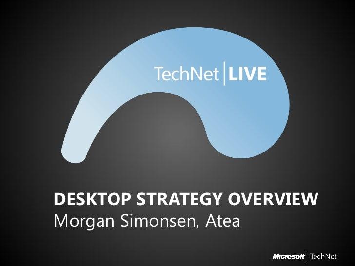 TechNet Live spor 2   sesjon 3 - vdi overview