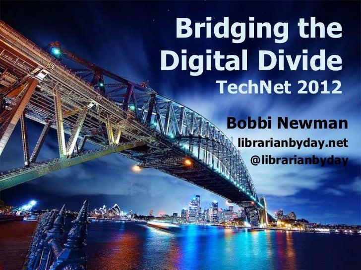 Bridging the Digital Divide: It's more than teaching computer skills to seniors