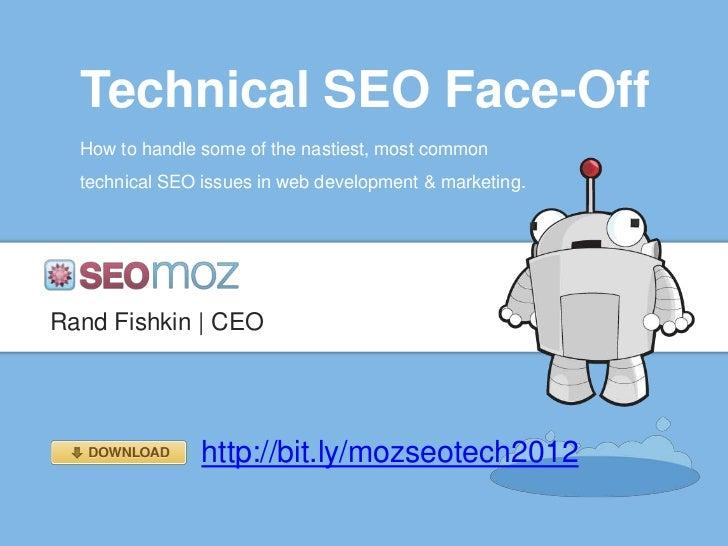 Technical SEO Face-Off