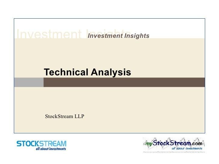Technical Analysis StockStream LLP