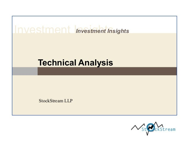 Investment InsightsInvestment Insights Technical Analysis StockStream LLP
