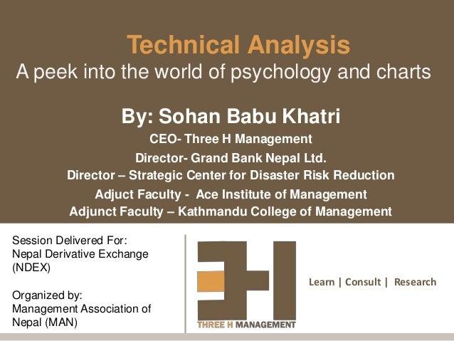 Technical analysis - By Sohan Khatri