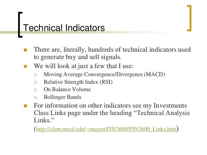 Bollinger bands indicator ppt
