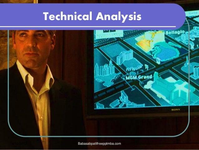 Technical analysis OF STOCK MARKET  presentation of mba 4 sem FINANCE PPT