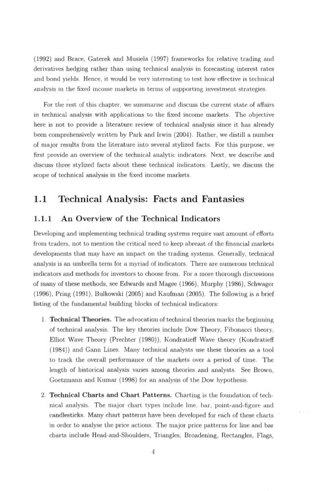 master thesis on technical analysis What are some good topics for a master's thesis on data mining in more technical market growth analysis if you need more help on master's thesis.
