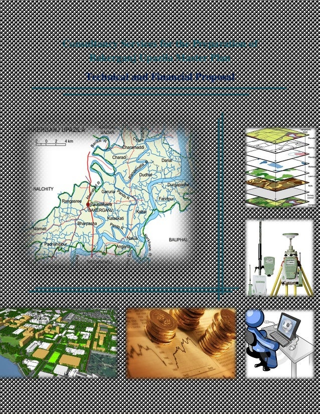 Consultancy Services for the Preparation of Bakerganj Upazila Master Plan Technical and Financial Proposal