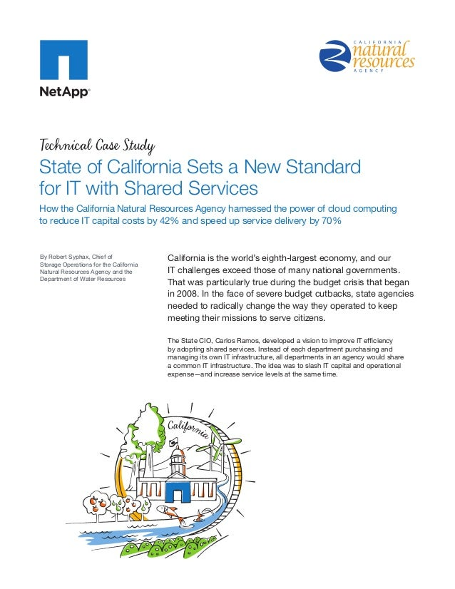 State of California Sets a New Standard for IT with Shared Services