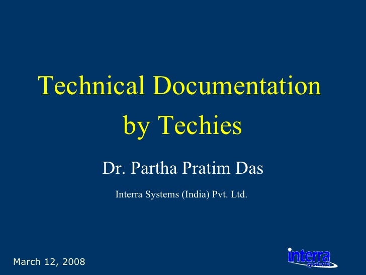 Technical Documentation By Techies