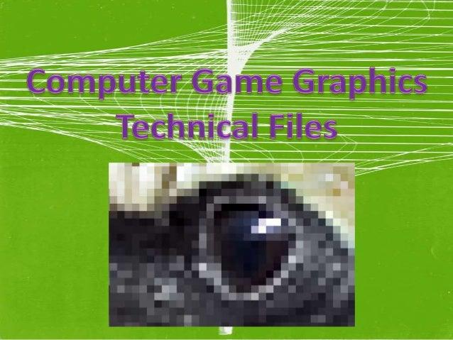 Technical Files Presentation