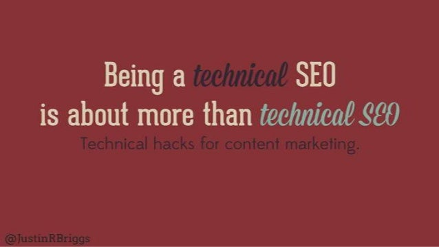 Technical Hacks for Content Marketing