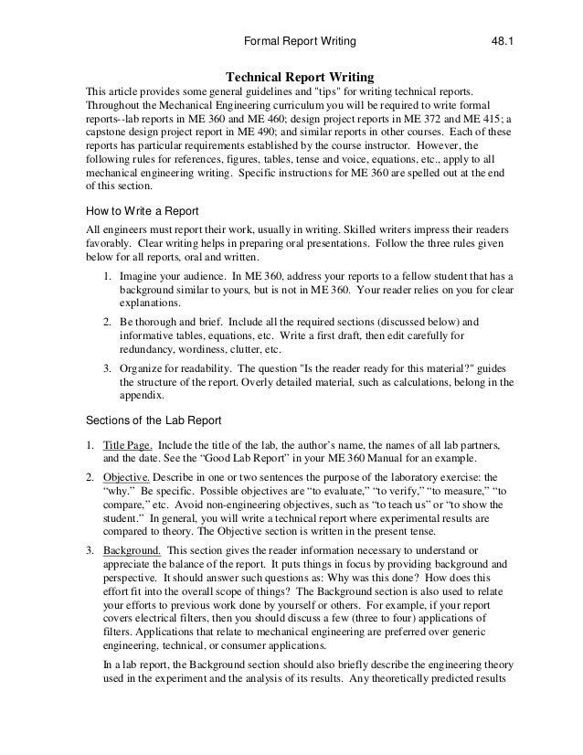 Report writing : Homework helper