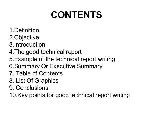 technical report writing example Writing@csu writing guide engineering technical reports this writing guide was downloaded from the writing@csu web site at colorado state university on january 23 who your audience is.