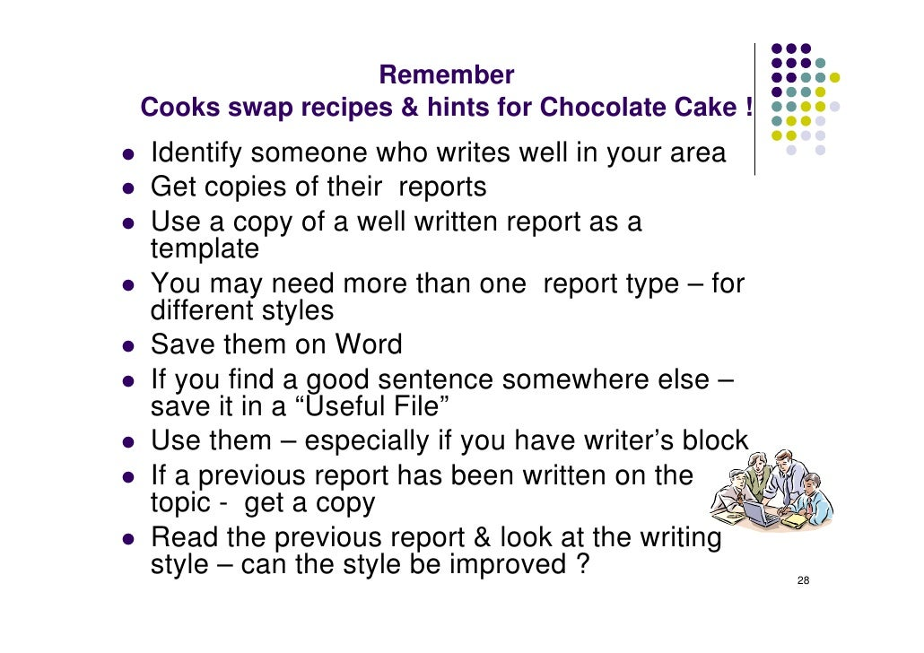 Essay on how to bake a cake