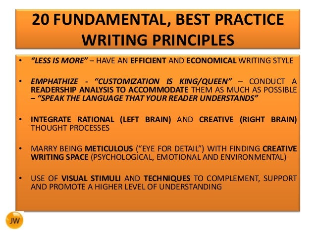principles of writing an essay Principles of management essays: over 180,000 principles of management essays, principles of management term papers, principles of.