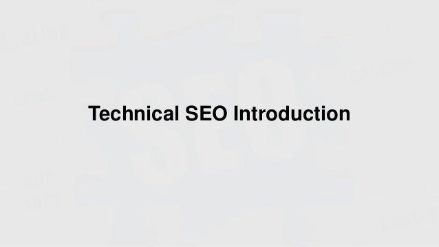 Technical SEO Introduction