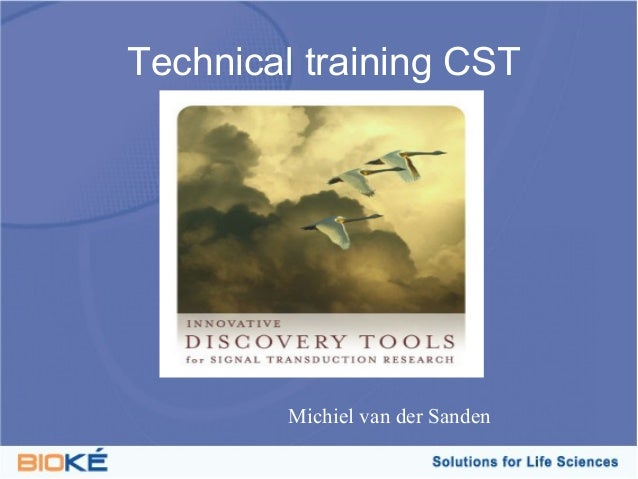 Technical training CST        Michiel van der Sanden