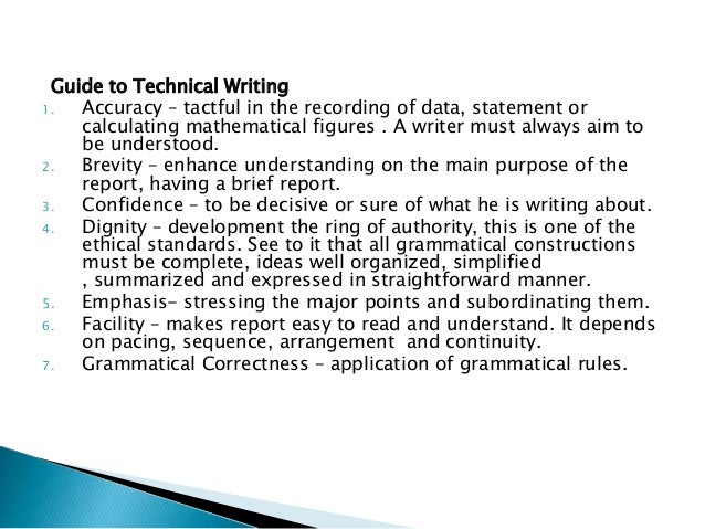 Technical paper writing service