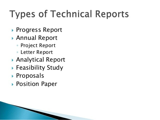 technical writing research paper examples