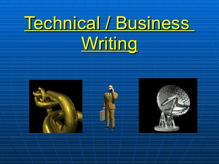 Technical business writing