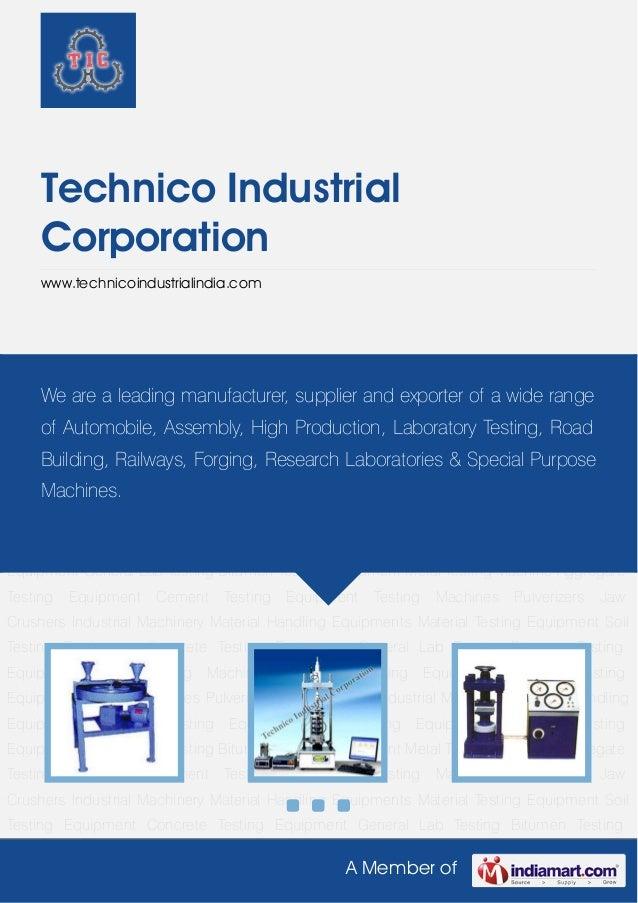 Technico industrial-corporation