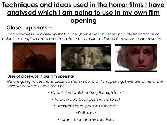 essay about horror genre