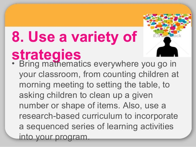 instructional strategies for math