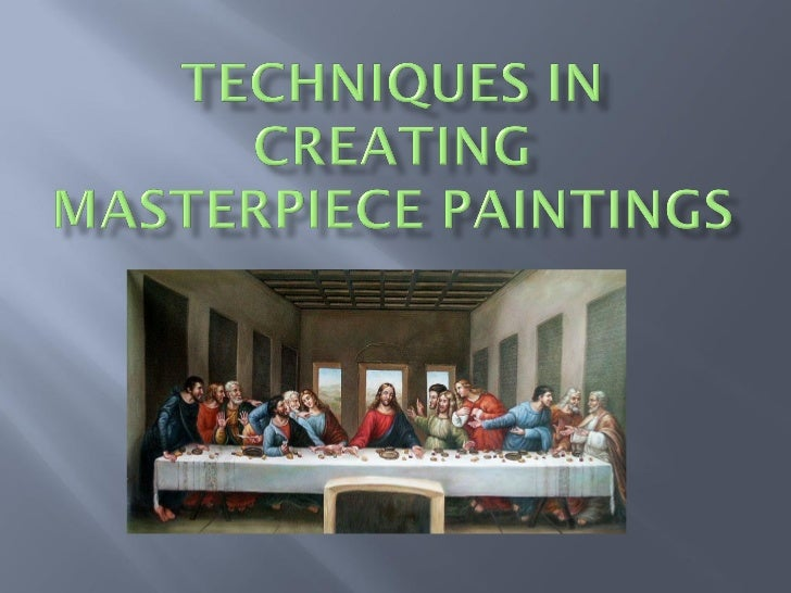 Do You Want to Create a Masterpiece Painting?