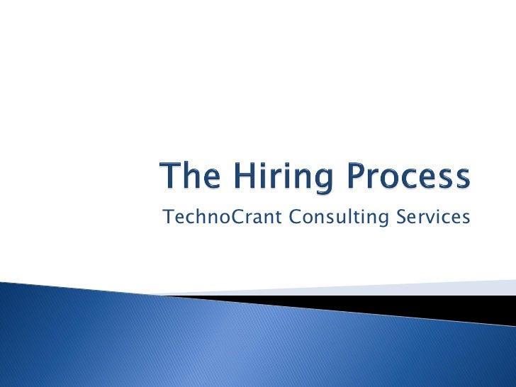TechnoCrant Consulting Services