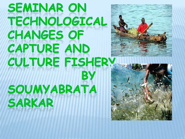 Technological evolution in fish catching