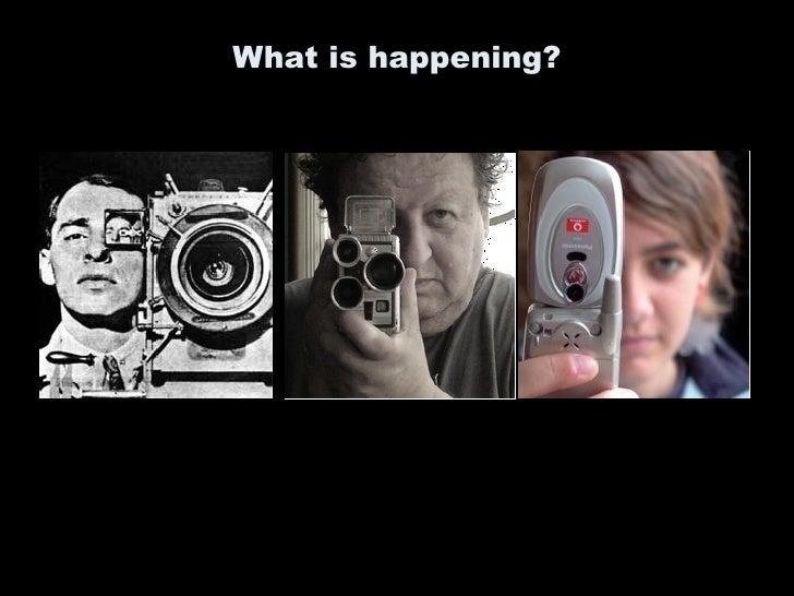 technologies of representation:cinematography