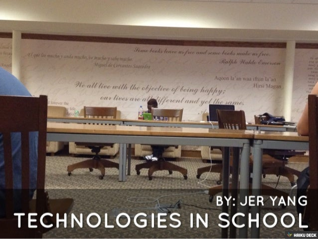 Technologies In School