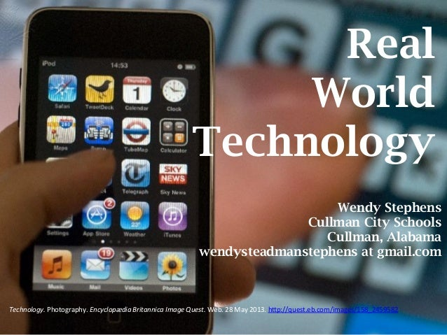 Real World Technology -- AASL Preconference, ALA Annual 2013