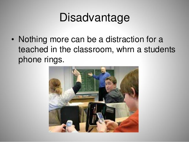 advantages and disadvantages of modern technologies to the 4rt year high school students