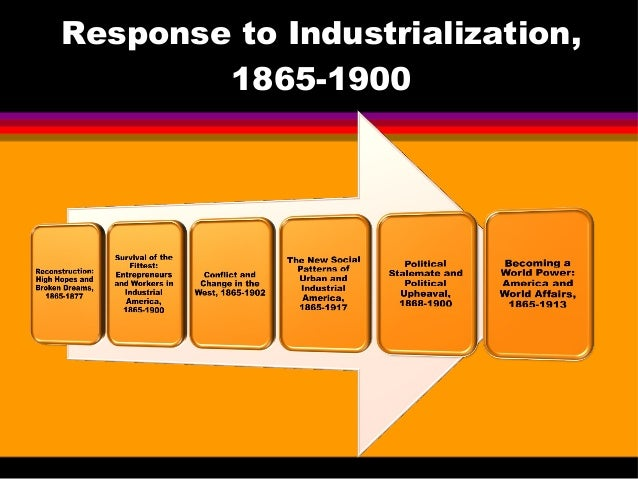 industrial leaders of the 1865 1900 era Trends which began in this era can still be seen today • corporations continue to  play  by the early 1900s, americans had transformed the united states into the  world's  the rise of industry 1865 thaddeus lowe invents ice machine c  1893 northrop  many business leaders and members of congress believed  they.