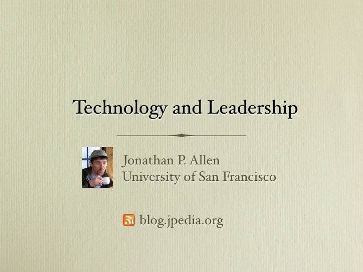 Technology and Leadership:  The IT Innovation Gap