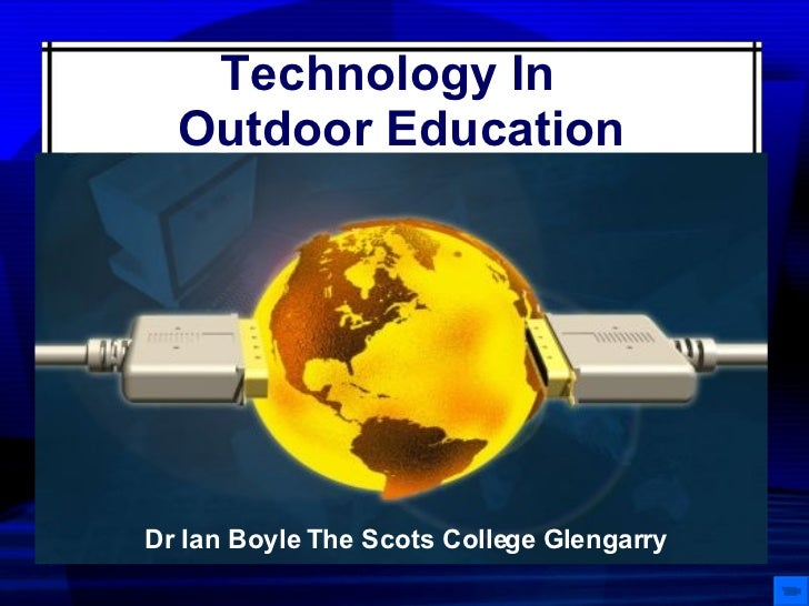 Technology And Outdoor Ed