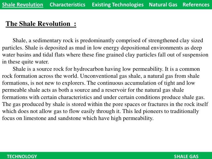 Technology - The Shale Revolution !!!