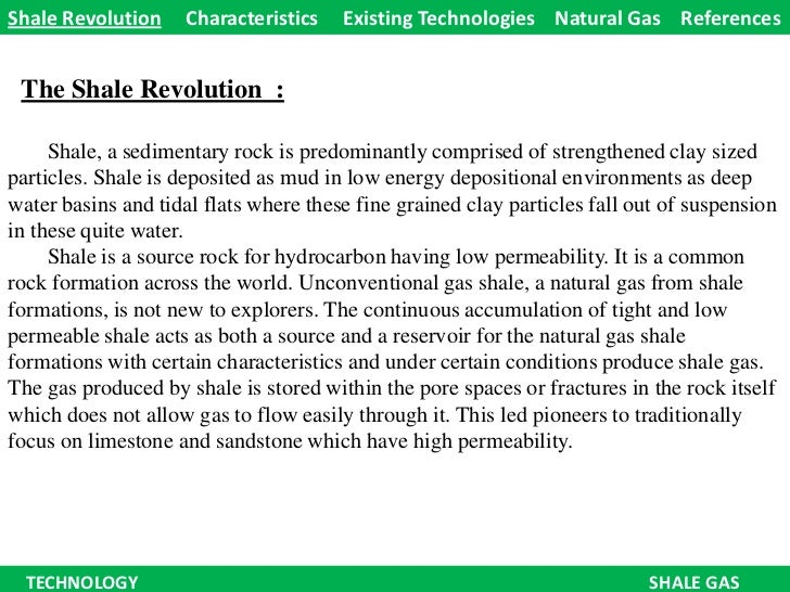 Technology - The Shale Revolution !!!