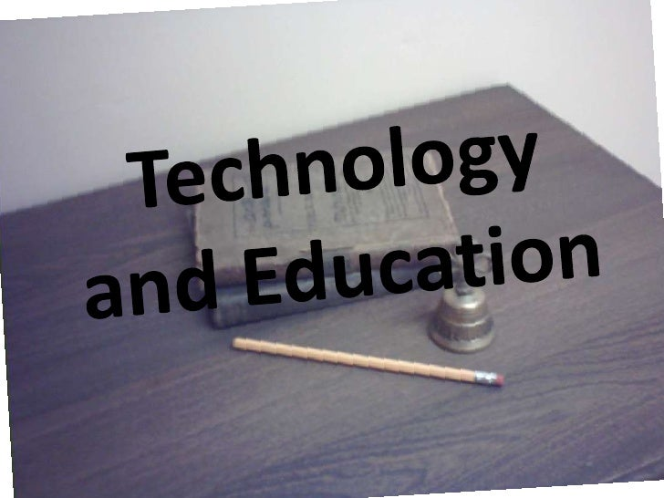 Technology And Education 1