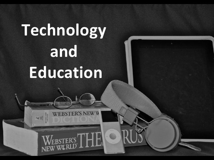 Technology and education pp
