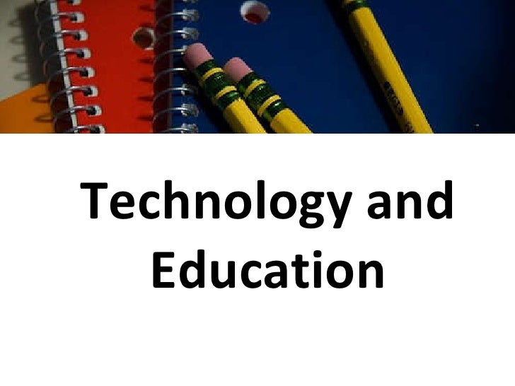 Technology And Education Tech Class
