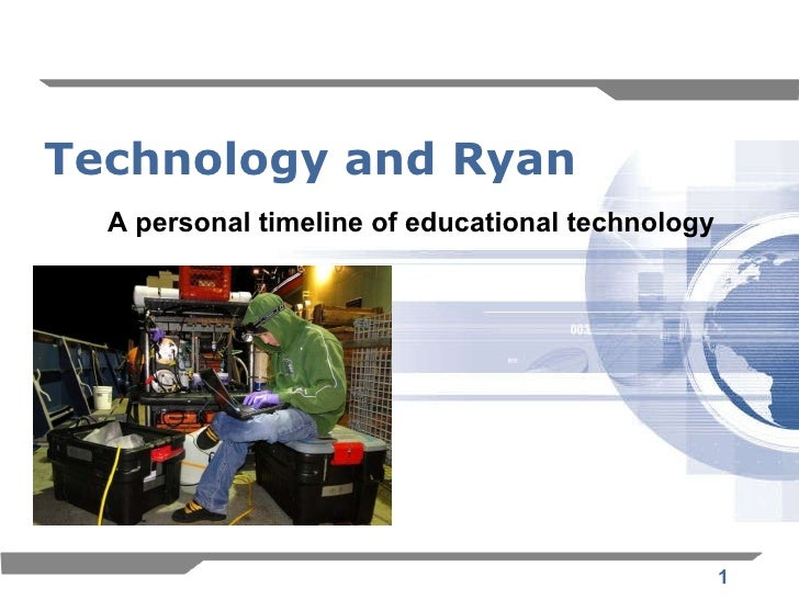 Technology and Ryan A personal timeline of educational technology