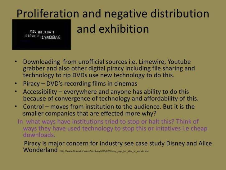 How is new technology changing the distribution and exhibition of films?