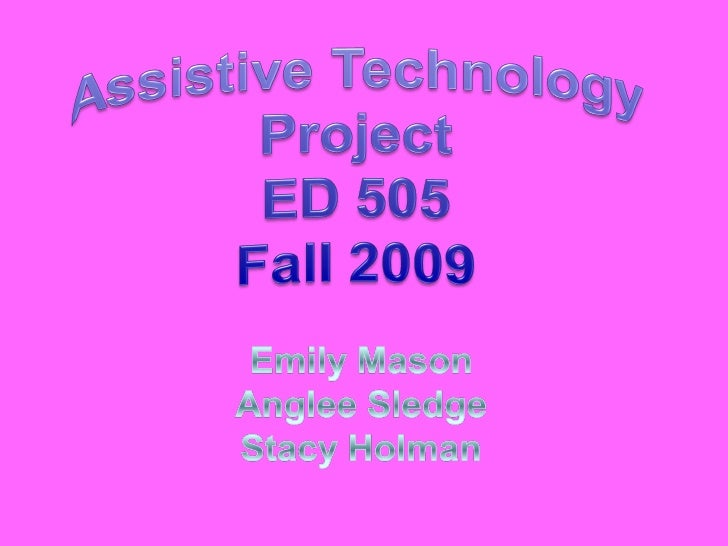 Technology & Education[1][1]